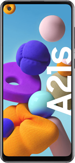 Samsung Galaxy A21s Sort