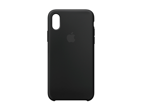 Apple iPhone X/Xs Silicone Case Black