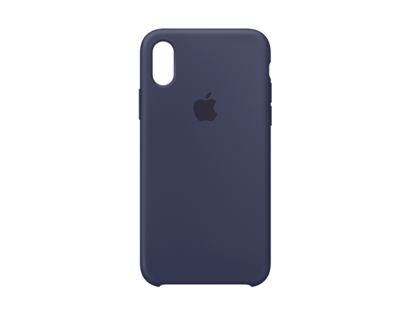 Apple iPhone X/Xs Silicone Case Blue