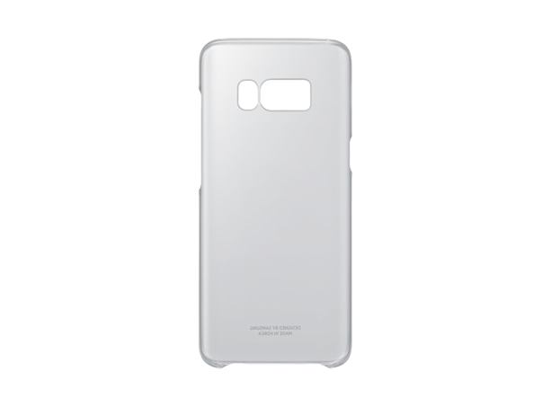 Samsung Clear Cover Galaxy S8 Black