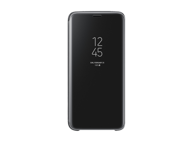 Samsung Clear View Standing Cover S9 Black