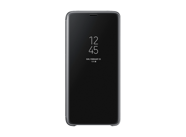 Samsung Clear View Standing Cover S9+ Black