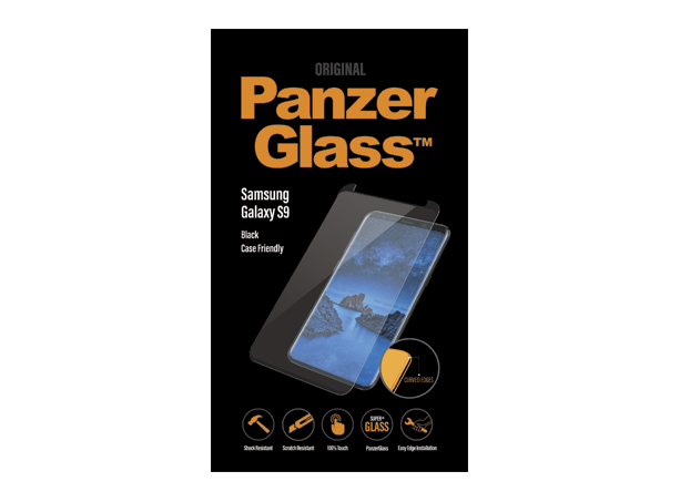 PanzerGlass Samsung S9 Case Friend Black