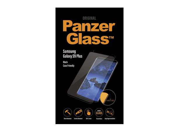 PanzerGlass Samsung S9+ Case Friend Black