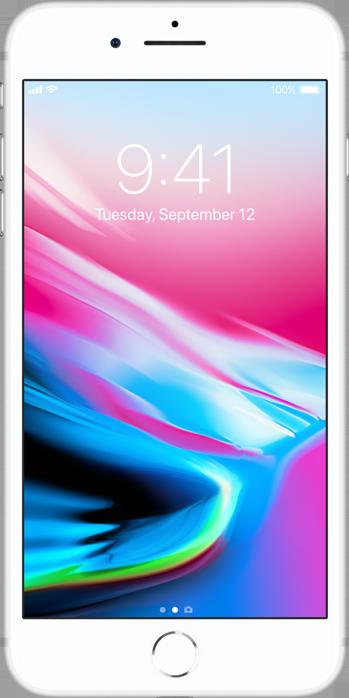 iPhone 8 Plus Sølv