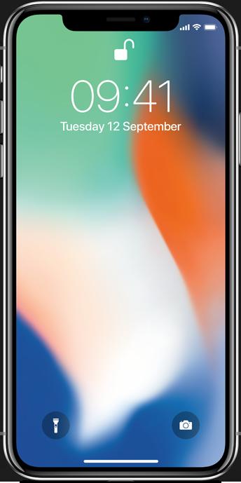 iPhoneX Sølv