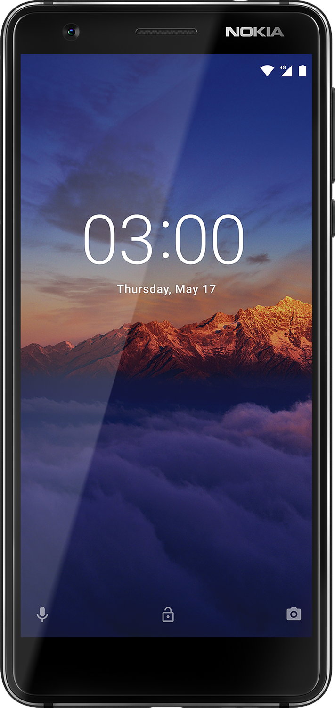Nokia 3.1 Sort