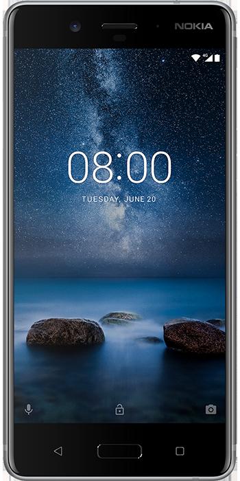 Nokia 8 Stål