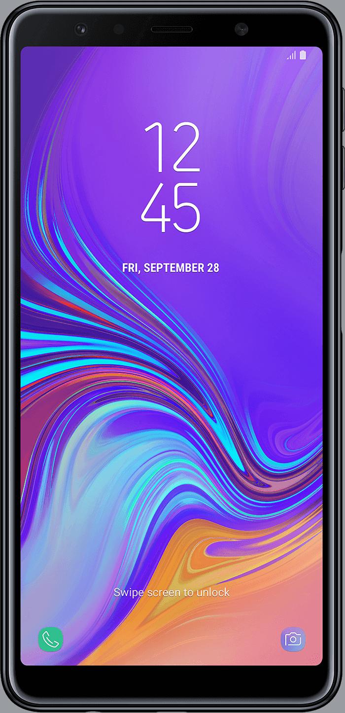 Galaxy A7 Sort